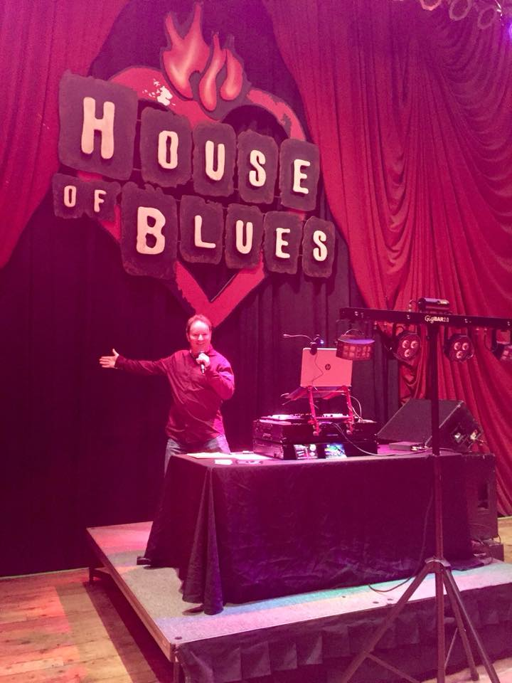 DJ Chris James at The House of Blues