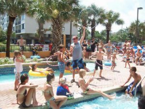 Interactive Resort Pool Party DJ